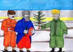 Christmas Truce - 25.12.1914 by AnAspieInPoland