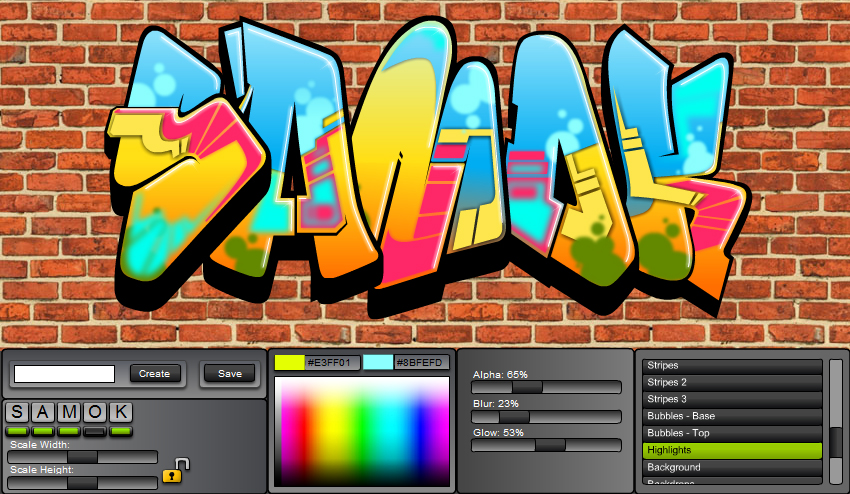 graffiti creator by mindgem on deviantart. Black Bedroom Furniture Sets. Home Design Ideas