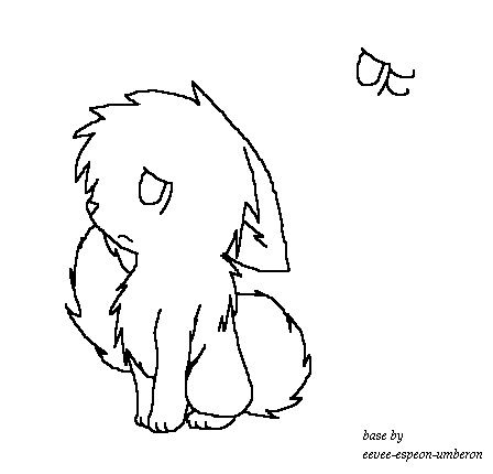 Crying Warrior Cat Outline Wwwpicturessocom