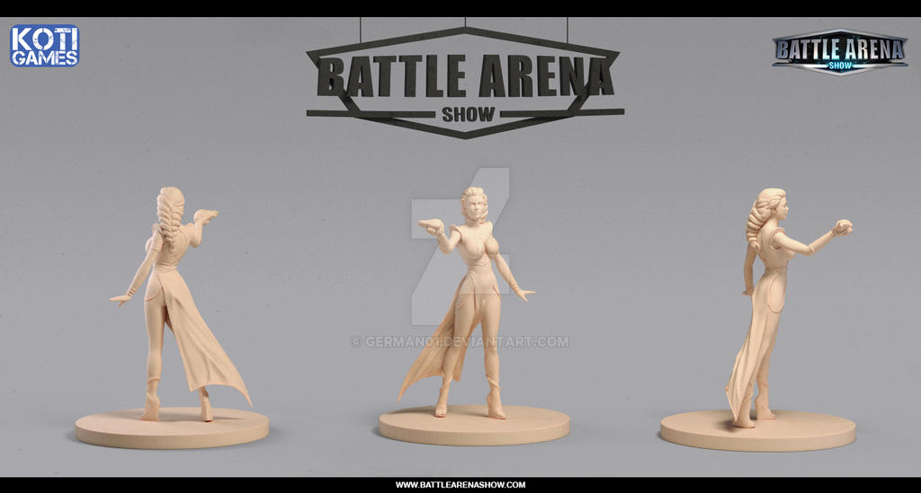 Battle Arena Show - Tiamat Hero Miniature by german01