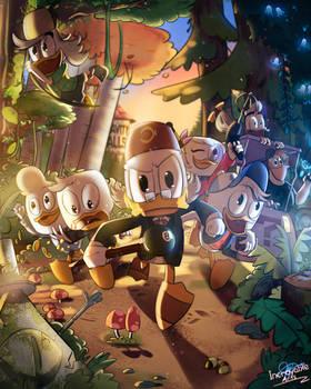 Ducktales x Gravity Falls