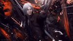 Dante (Devil May Cry 5) by Djoker21X