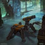 Burning Suns - Repair droid