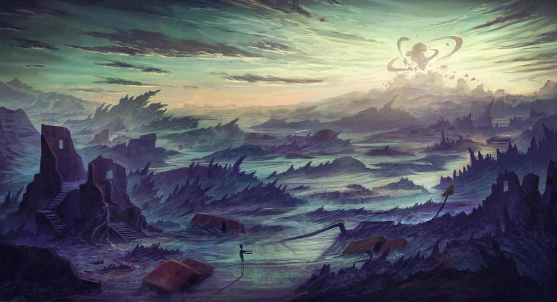 Ash Lake by Ellixus