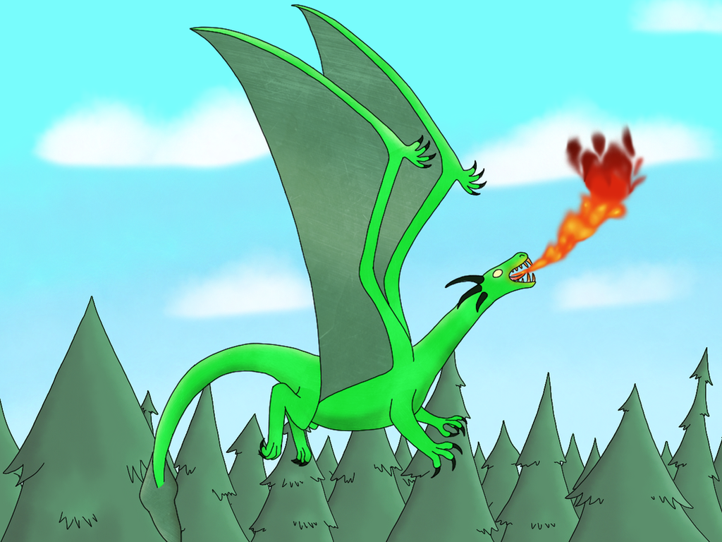 It's a Freakin' Dragon! by VenomQuill