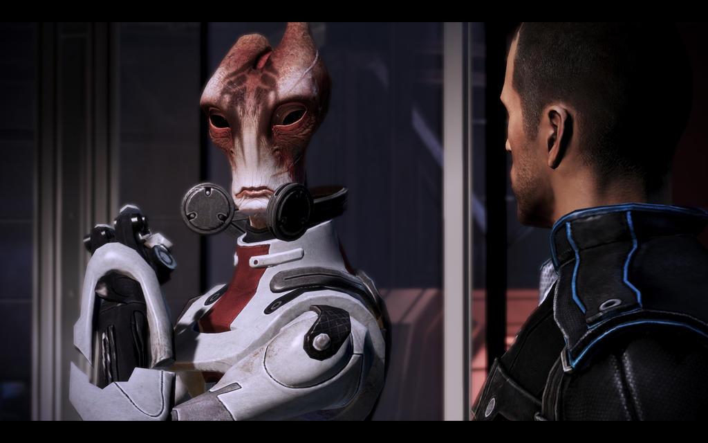 Mass Effect Mordin Wallpaper