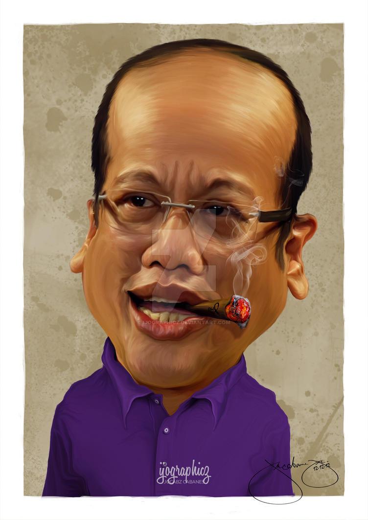 NoyNoy Aquino by ijographicz