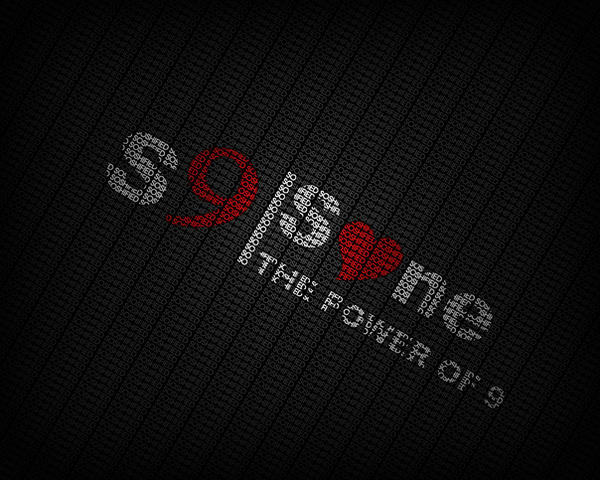 Soshified typography wallpaper by FFVortex