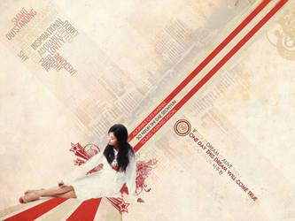 SNSD Seohyun Retro Wallpaper by FFVortex