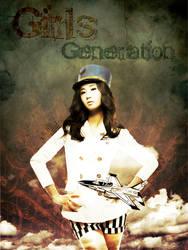 SNSD Yuri Grunge Poster by FFVortex