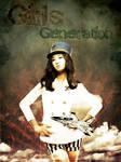 SNSD Yuri Grunge Poster
