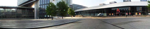 Gare Lille Europe + Euralille by FFVortex