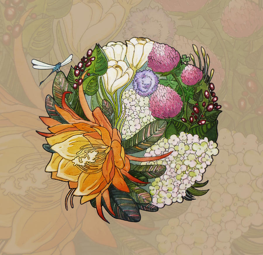 Flower's sun by Bog-Valenok