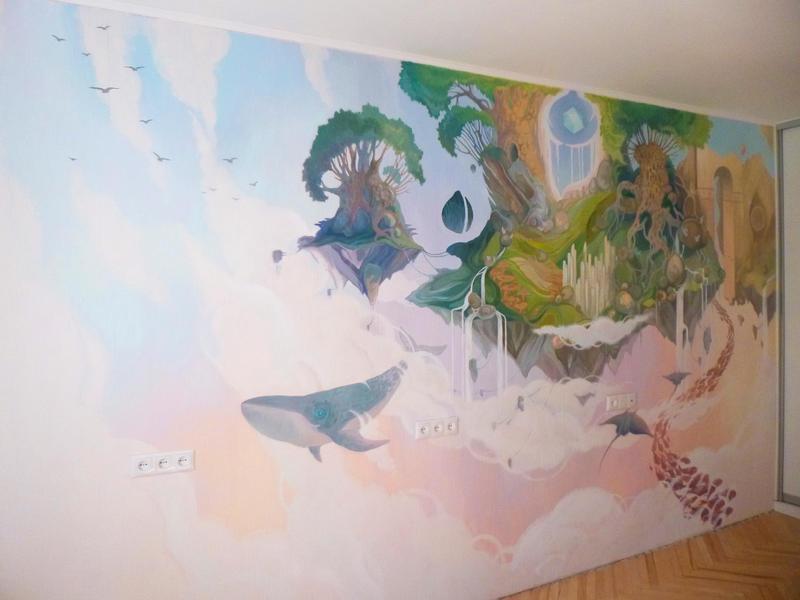 Wallart for children's room by Bog-Valenok