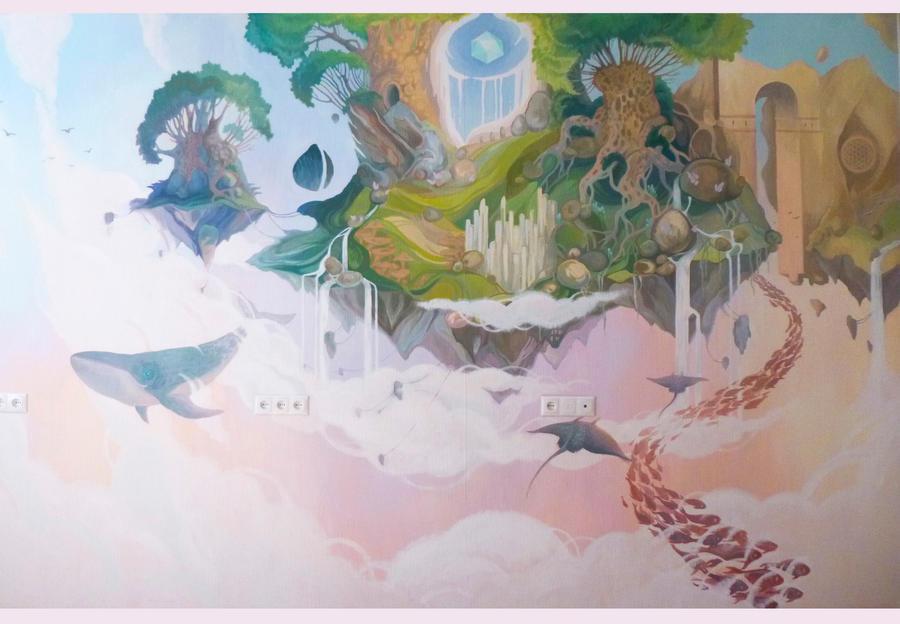 Wallart for children's room _2 by Bog-Valenok