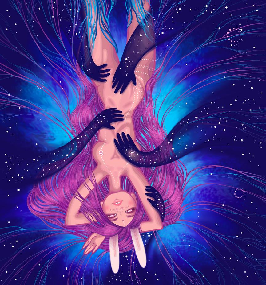 Embrace of space by Bog-Valenok