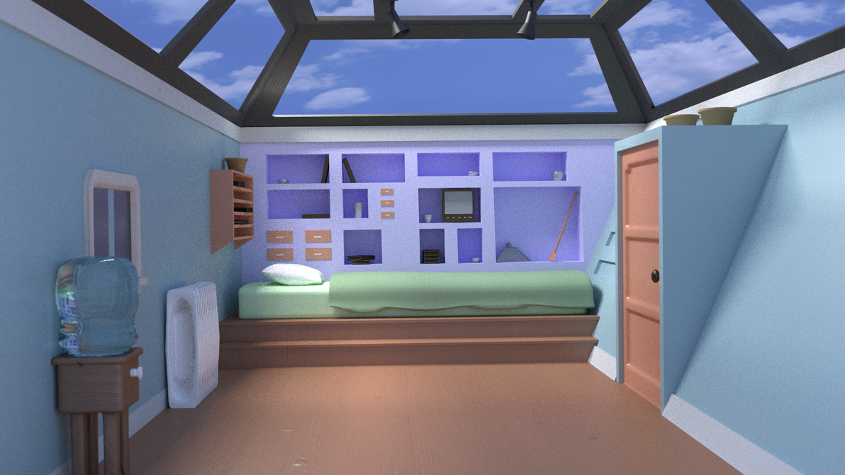 hey arnold bedroom