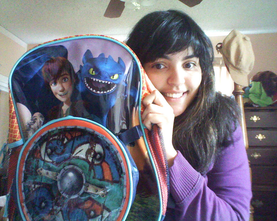 HTTYD backpack from WalMart by SurfsUp07 on DeviantArt