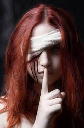 Blind Red by SamBluemchen