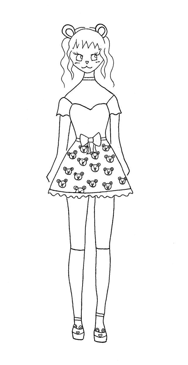 Lolita Bear by Toffu-x