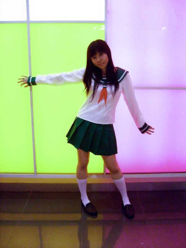 Cosplay: Kagome Higurashi by satsukiss
