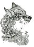 wotf girl by reikomiori