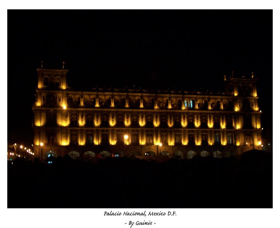 Palacio Nacional by Guinis