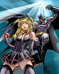Misa VS Batman Anaglyph