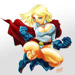 PowerGirl Anaglyph