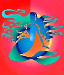 Technicolor mermaid