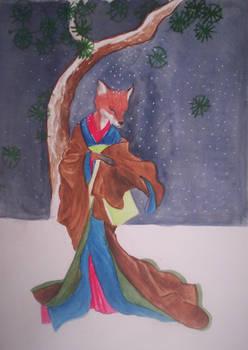 Pine Kitsune