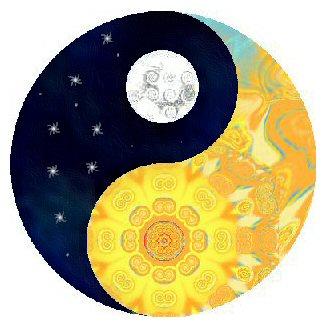 Sun Moon Yin Yang by Ketutar