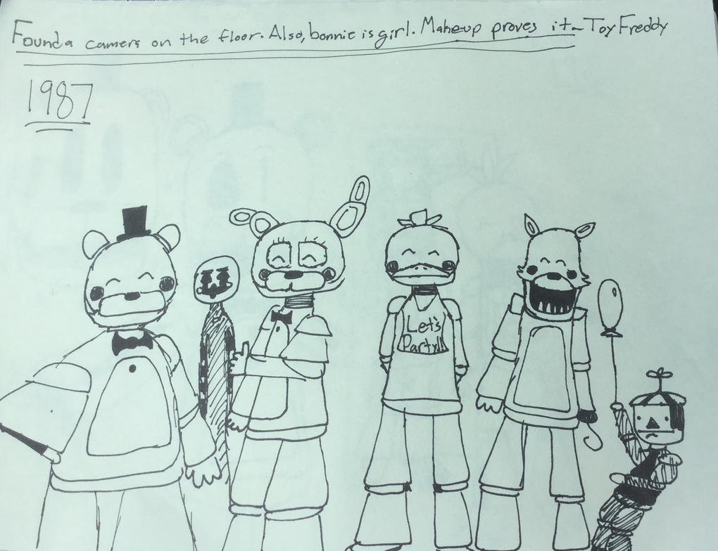 Fazbear And Friends Photo Album: Page 3 By MoltenCell85 On