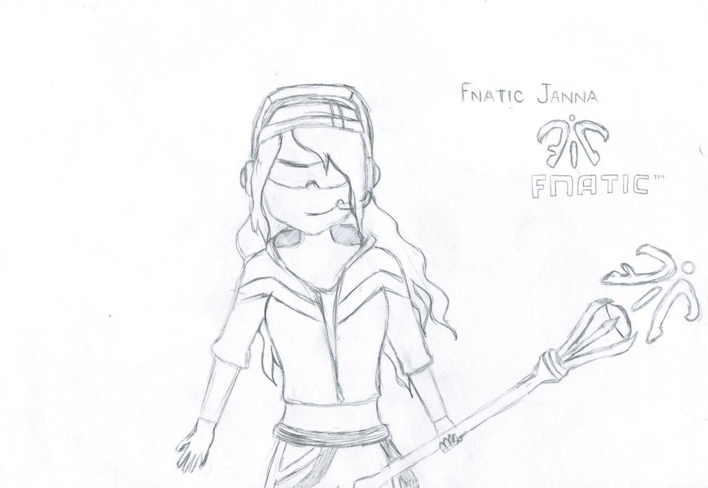 Fnatic Janna by Bluey30142