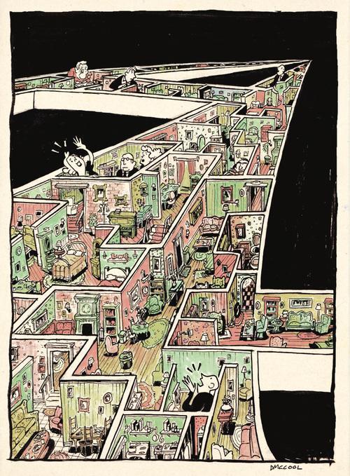 Infinity Living Rooms by danmccool