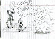 killer oranges by NightmareKat