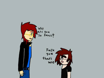 Me and Keith by ultimatecartoon