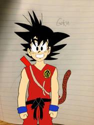 Goku by ultimatecartoon