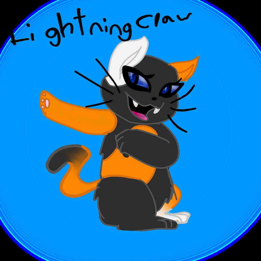 Request: Lightning Claw by Emilisparkles