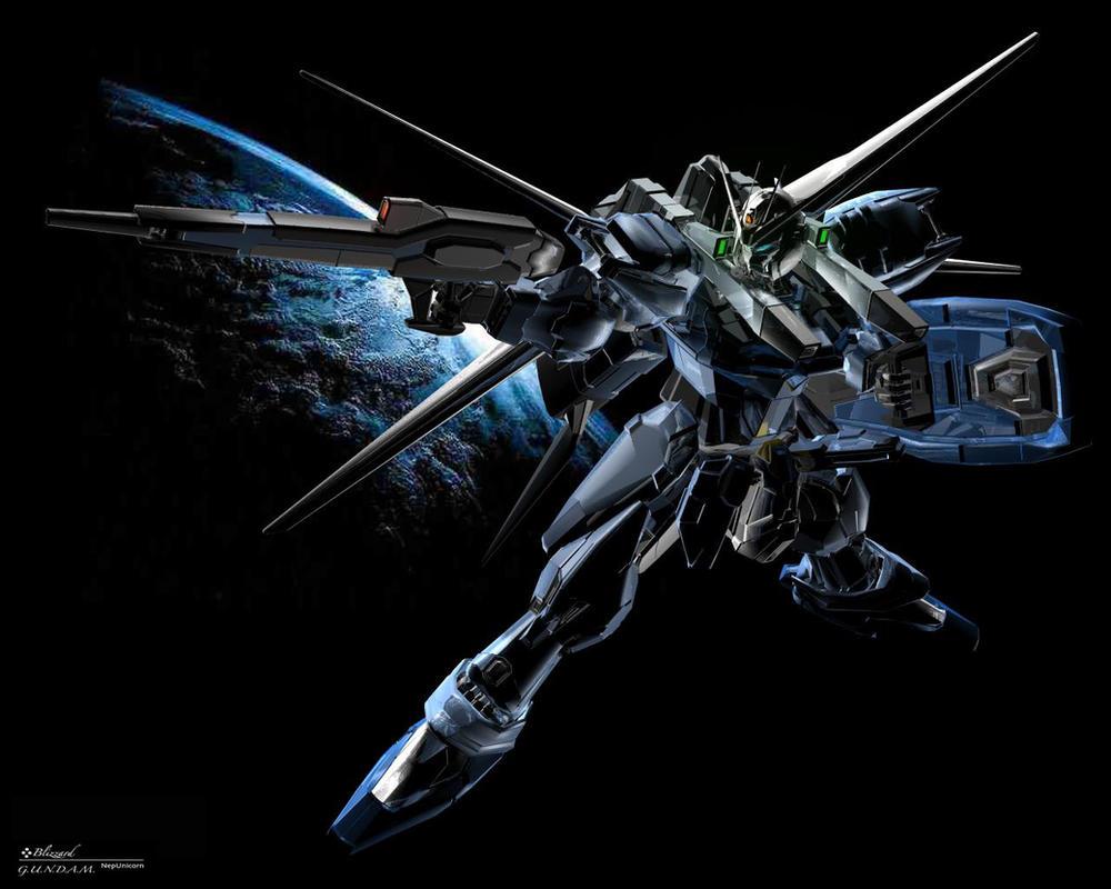 Gundam-Blizzard by nepunicorn