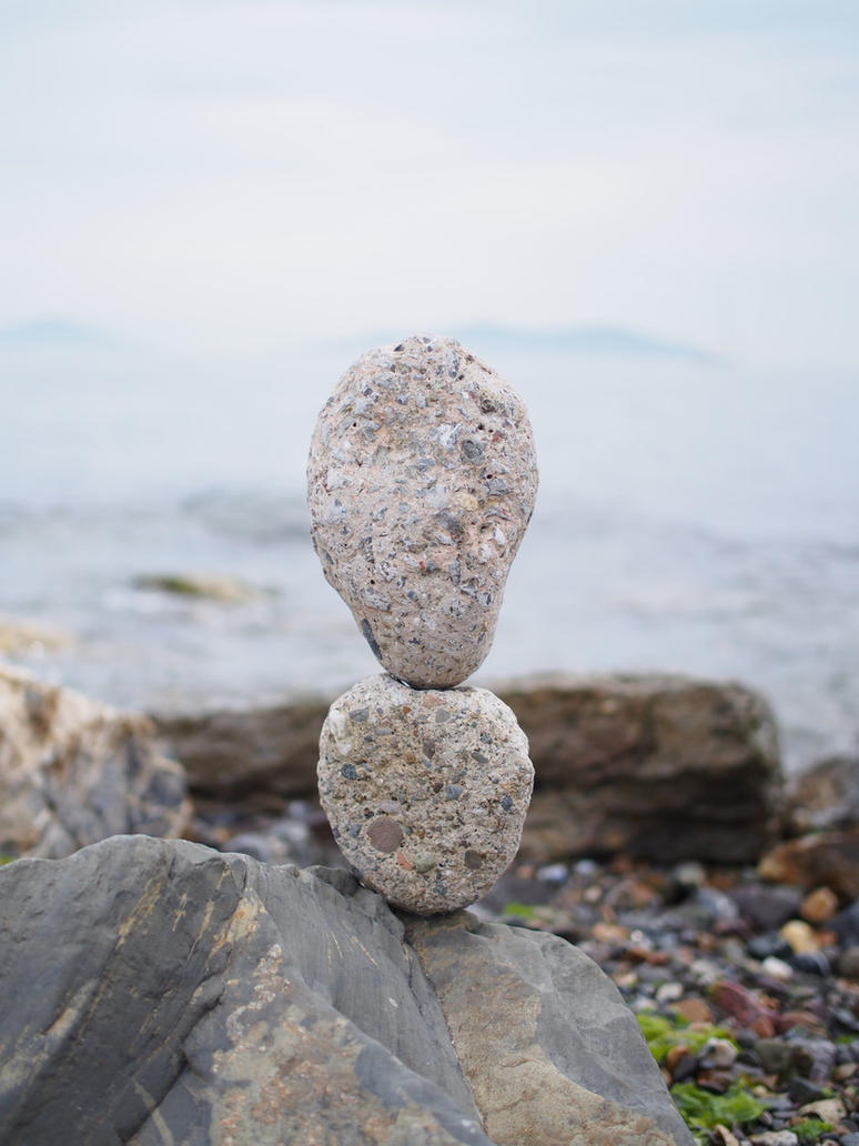 balanced stones 3 by yelkenlin