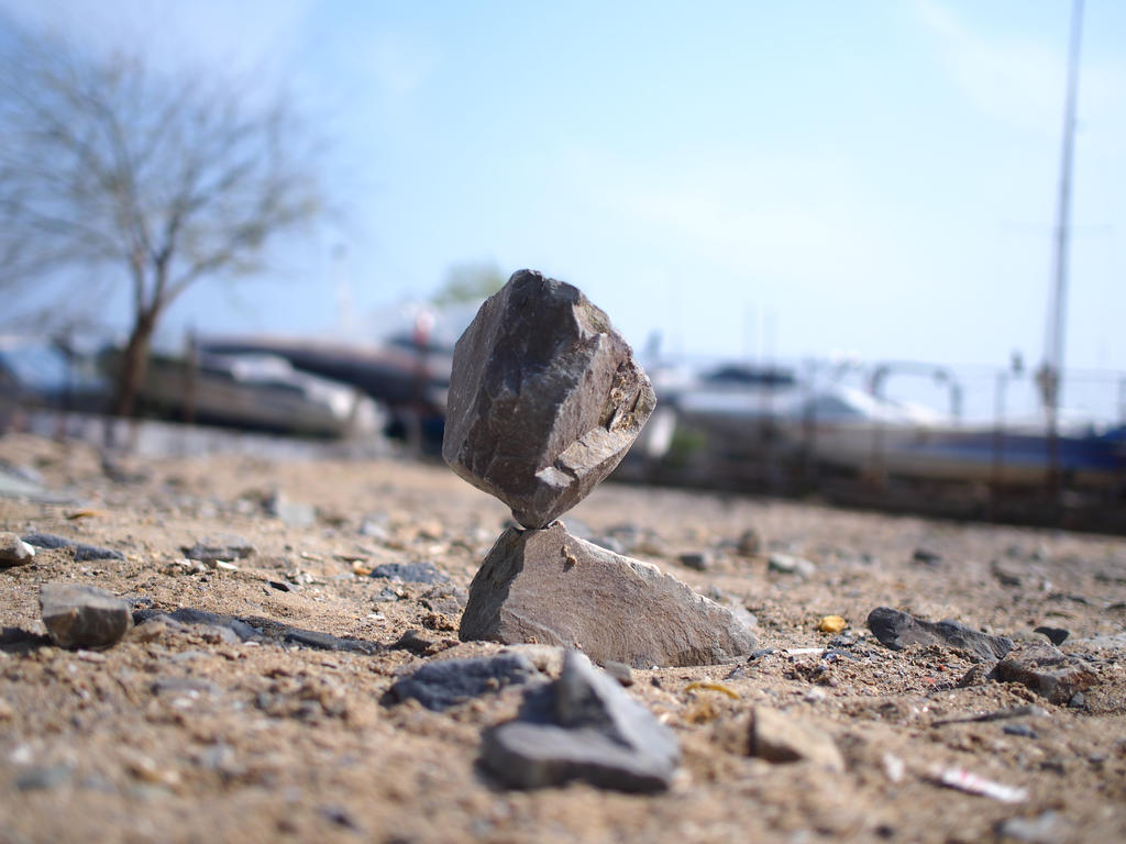 balanced stones 5 by yelkenlin