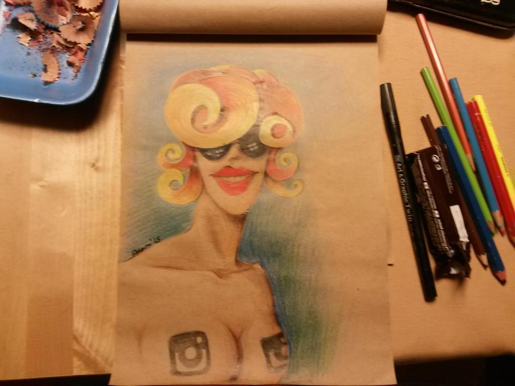bieatch girl by yelkenlin