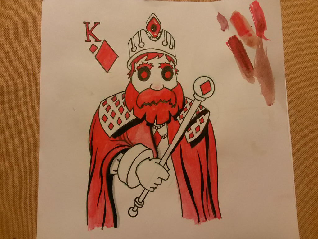 Diamond King  by yelkenlin