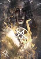 The Black Flame by Lvcifera