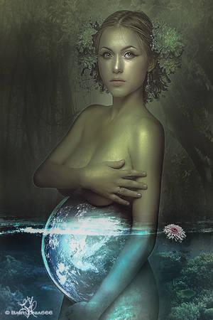 Gaia by Lvcifera