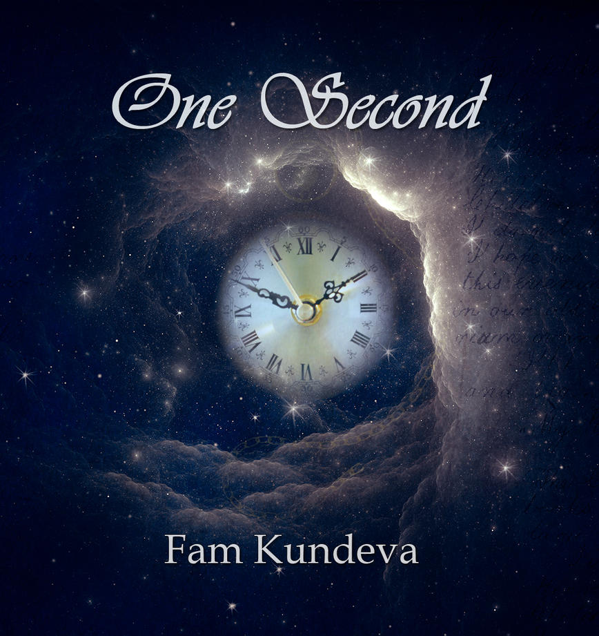 One Second book cover by vLine-Designs