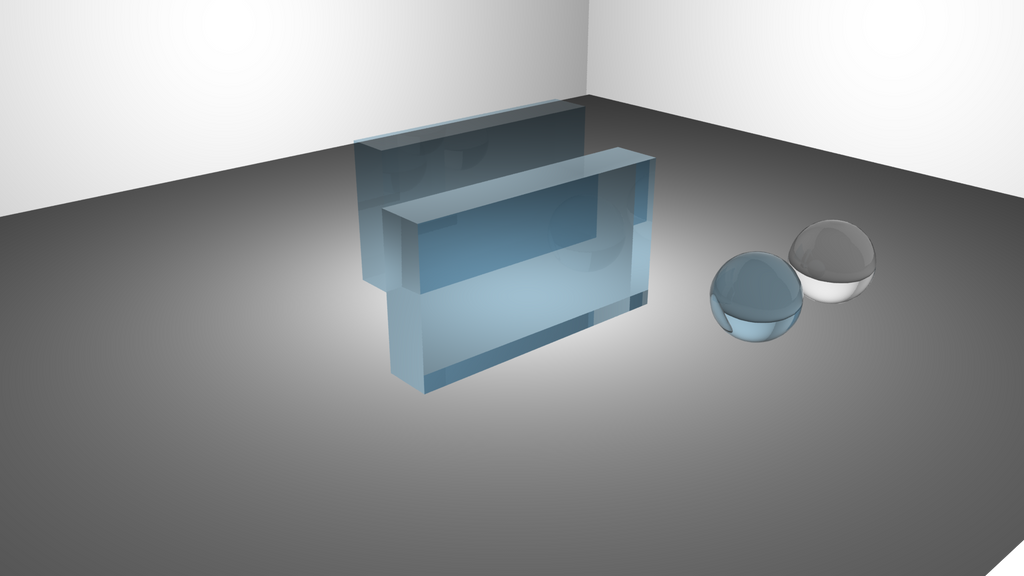 Glass experiment in Maya by vLine-Designs