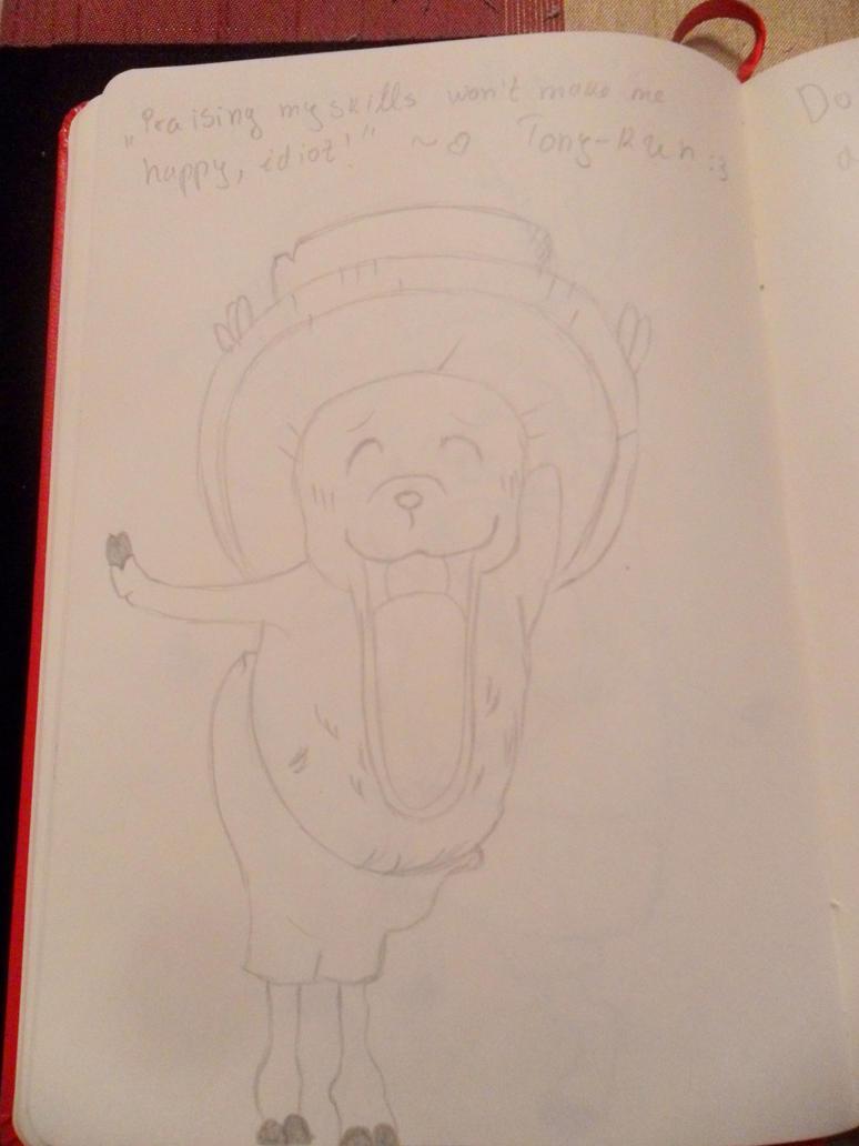Tony Chopper drawing 5 by vLine-Designs