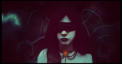Azathoth's priestess by vLine-Designs